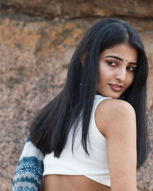 Vakeel Saab Movie Actress Ananya Nagalla Latest Glamour Hot Saree Photoshoot Stills Actress Trend