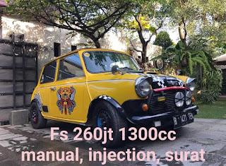 Jual Mini Morris Classic 260 Juta