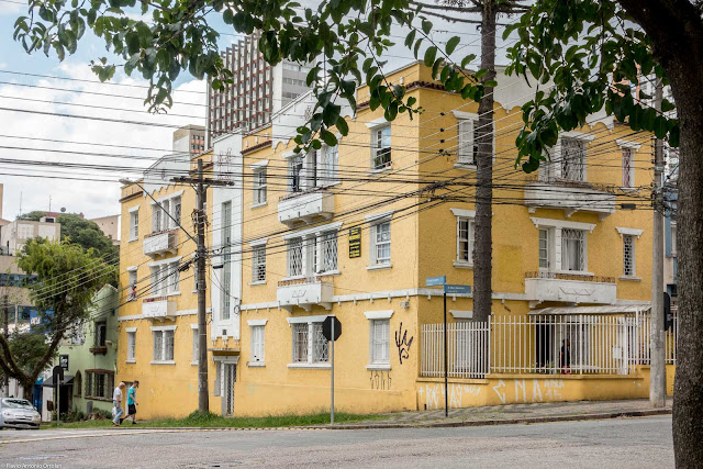 Edifício General Carneiro - vista de perfil
