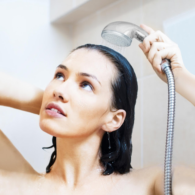 Hand Held Shower Head filters for Hard Water