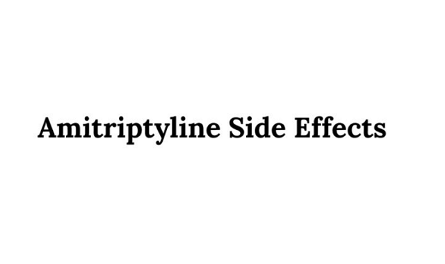 Amitriptyline Side Effects #Infographic