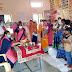 पुरूषों ने पौष्टिक थाली व्यंजन प्रतियोगिता में आजमाये हाथ  बनाया पुलाव, खिचड़ी, मक्के के बड़े, खीर ओर भजिये  व्यंजनों की पौष्टिकता की जानकारी भी दी