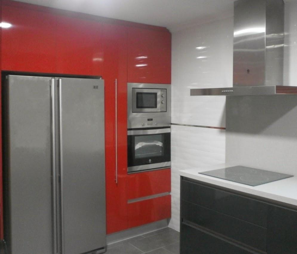 C mo solucionar peque os problemas al proyectar la cocina - Cocinas con frigorifico americano ...