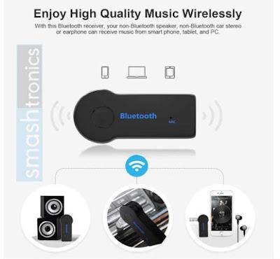 Smashtronics - Car Bluetooth Audio Receiver