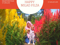 Happy One Year Filza (Milesone 0-12 Bulan)
