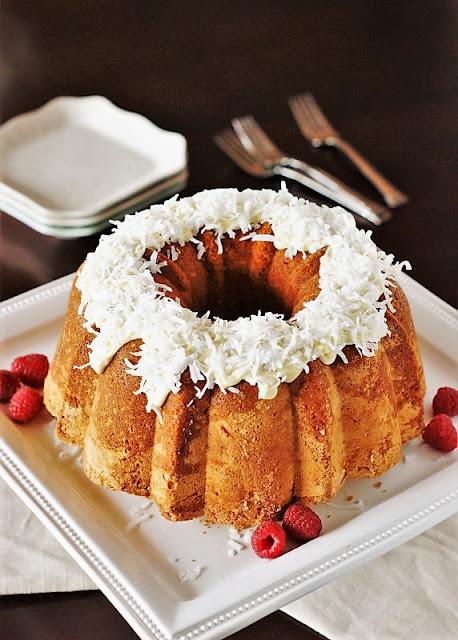 Coconut Pound Cake Image