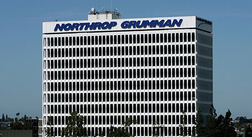 After signing up for a tour we just navigated to the tour start at Building E2 (Source: Northrop Grumman)