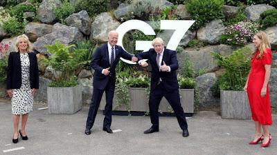 Boris and Joe being silly