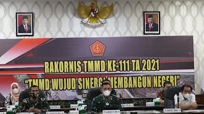 Danrem 071 Wijayakusuma Vicon Rakornis TMMD Reguler -111