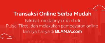 Isi Pulsa Mudah dengan Blanja.com