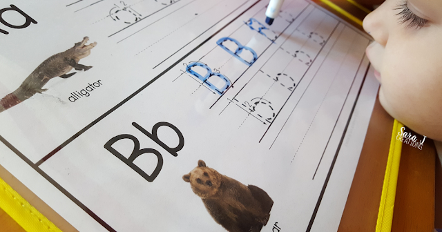 Letter B Activities that would be perfect for preschool or kindergarten. Sensory, art, literacy and alphabet practice all rolled into Letter B fun.