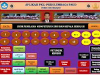 Aplikasi PKG-PKKS Kepala Sekolah PAUD Versi 360 Terbaru