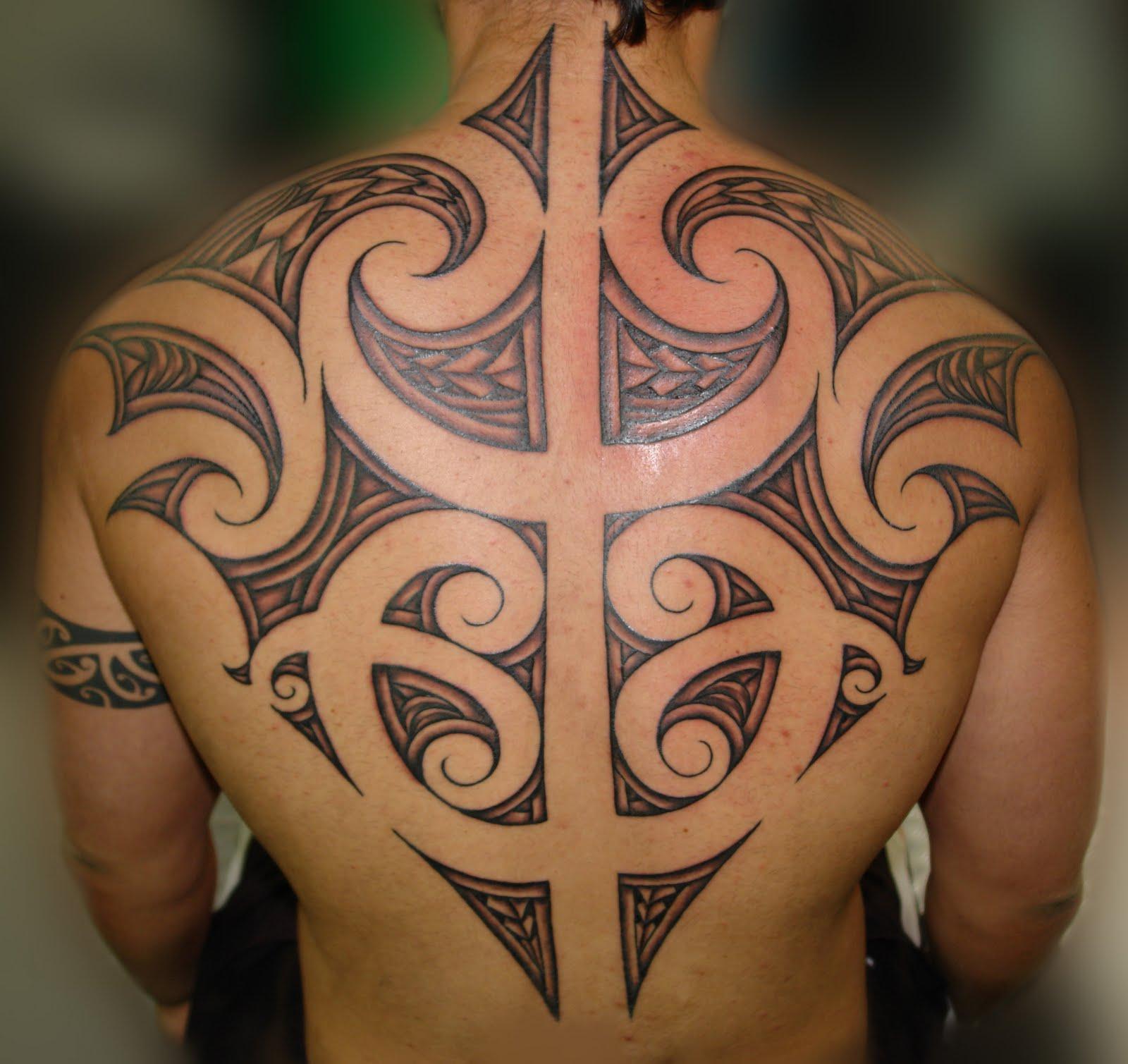 awesome maori tattoo design for 2011