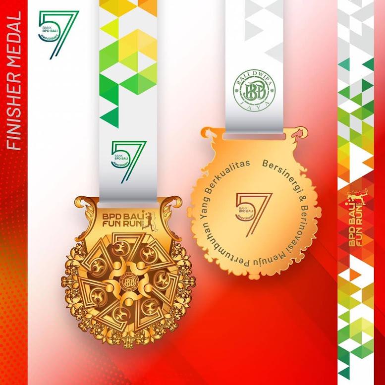Medal BPD Bali Fun Run 2019