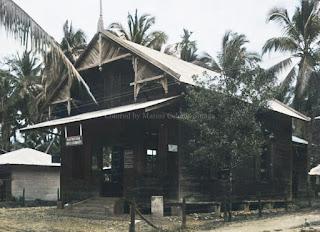 kantor perusahaan perdagangan guntzel & schumacher di perkebunan karet batang toru