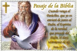 Resultado de imagen para Juan 15,26-27