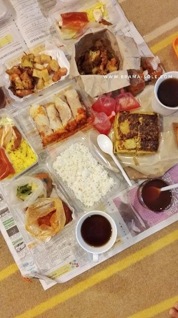 Aneka kuliner hasil berburu di bazaar ramadan Putrajaya