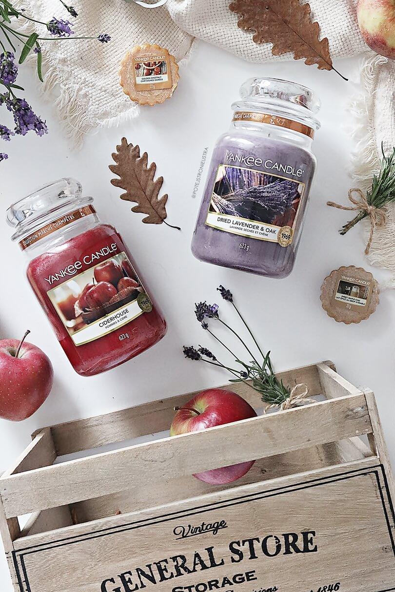 nowości yankee candle na jesień 2019