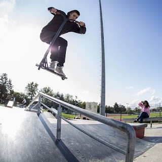 scoot blunt trott freestyle ethic apex trottinette Meaux skatepark