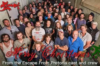 Merry Christmas: Escape from Pretoria cast and crew photo