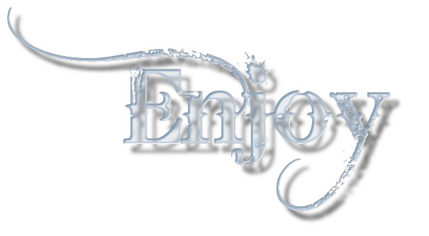 Ana's World: Glass Effect Text Script For Gimp Users