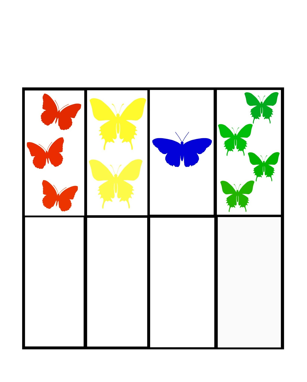 Little House Butterfly Worksheet