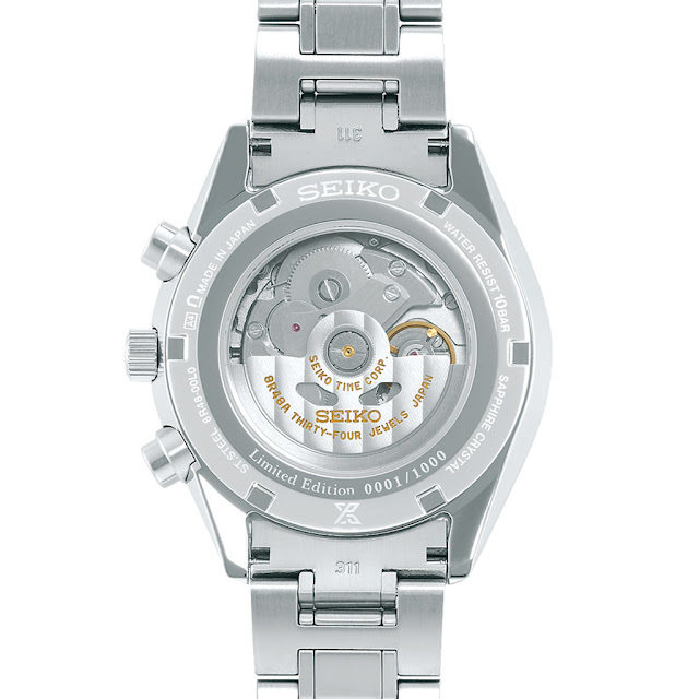 Seiko Prospex Automatic Chronograph 50th Anniversary SRQ029J1