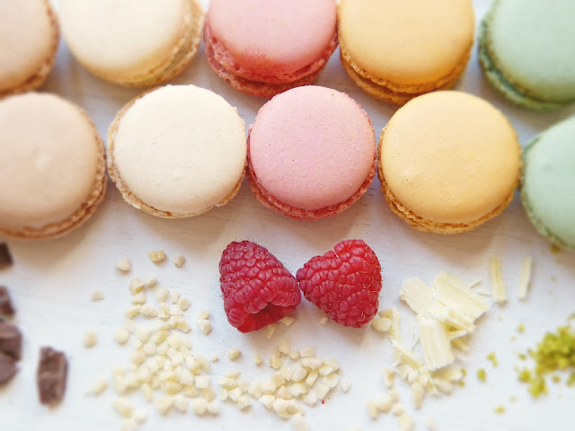 Gluten Free Macarons in France