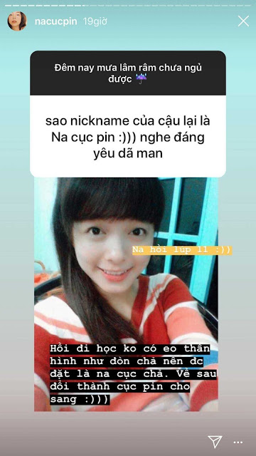 Gái xinh Instagram Na Cục Pin cuối cùng cũng lên tiếng giải thích ý nghĩa nickname độc của mình
