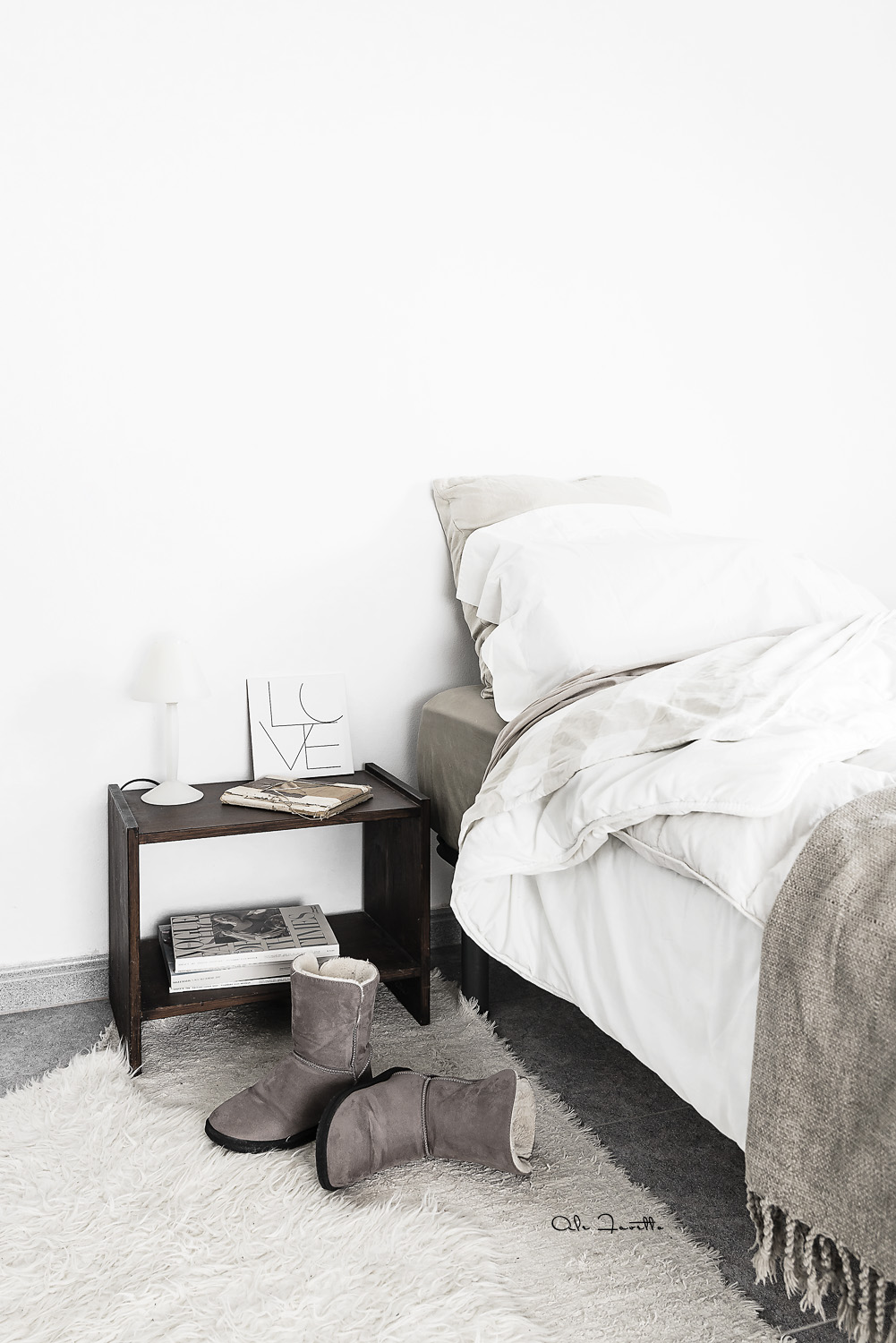Styling natural para el dormitorio