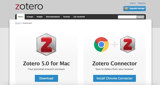 Download Aplikasi Zotero