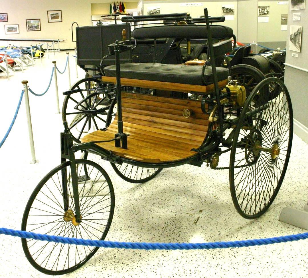 All Crazy Auto: Benz Patent Motor Car (1885