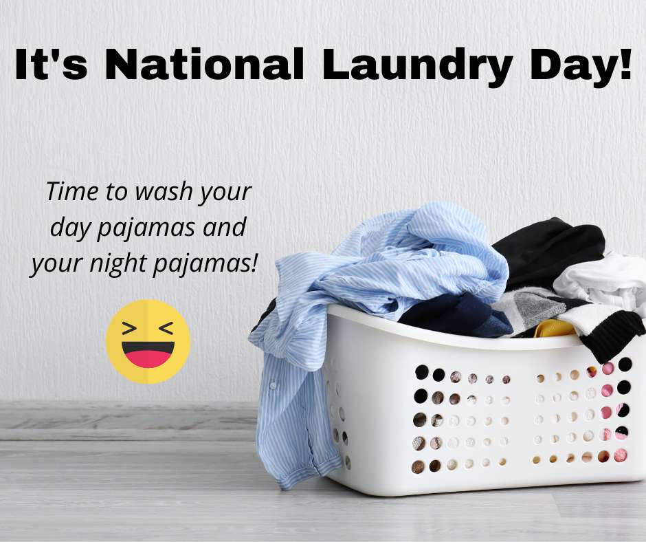 National Laundry Day Wishes Sweet Images