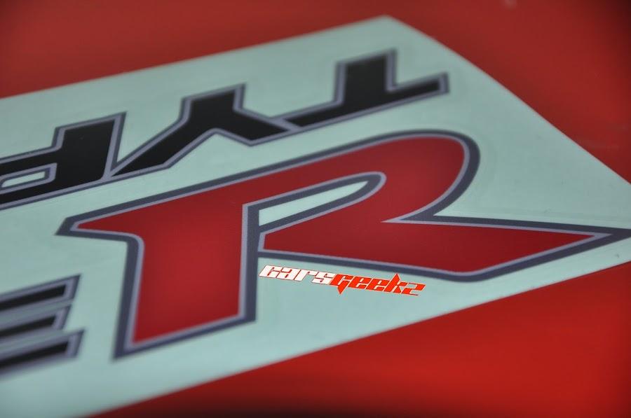 Type R | Sticker Pintu - Honda FD 2