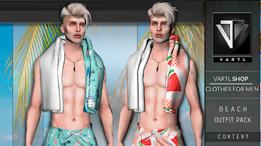 BEACH OUTFIT PACK #2