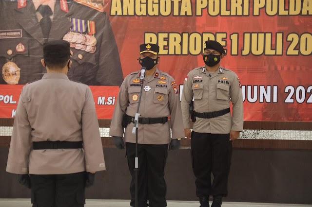 323 Personel Polda Kepri dan Polres Jajaran Naik Pangkat Setingkat Lebih Tinggi