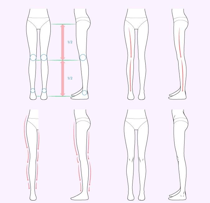 Gambar kaki anime wanita