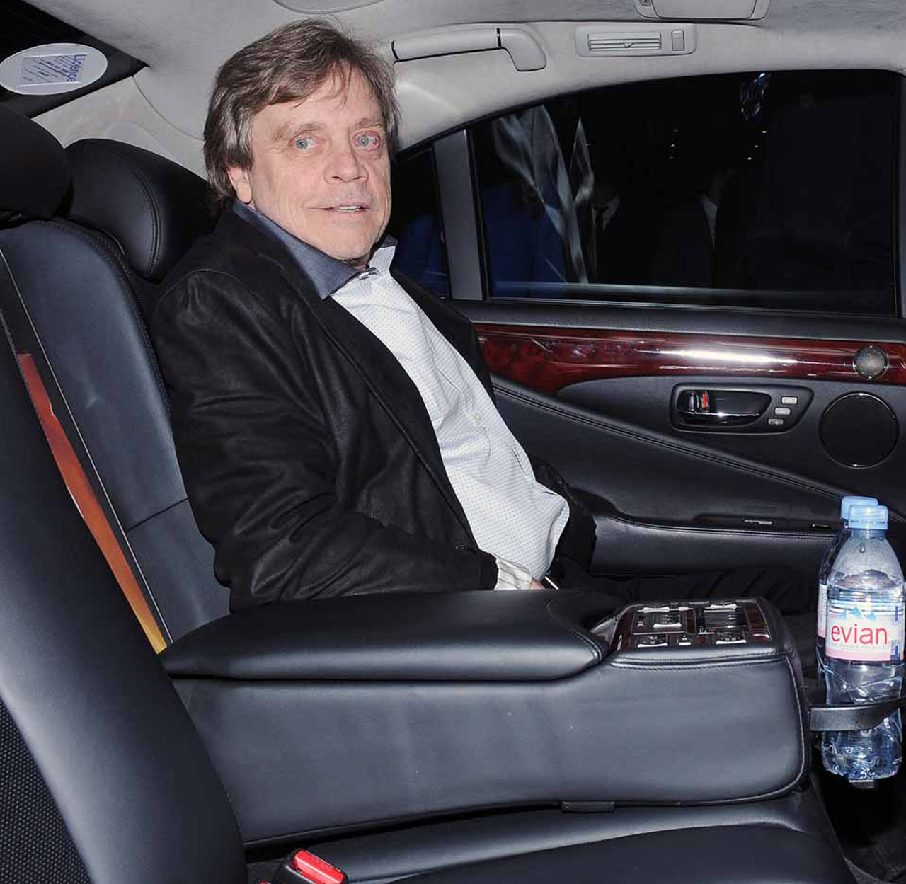 Mark Hamill prezent la petrecerea ce marchează finalul filmărilor pentru Star Wars: Episode VII