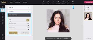 Cara Membuat Efek Blur Sebagian Gambar Secara Online
