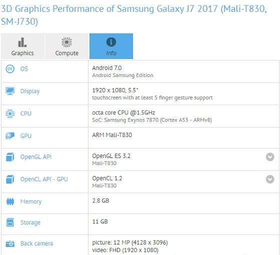 Samsung-galaxy-J7-2017-SM-j730-mobile