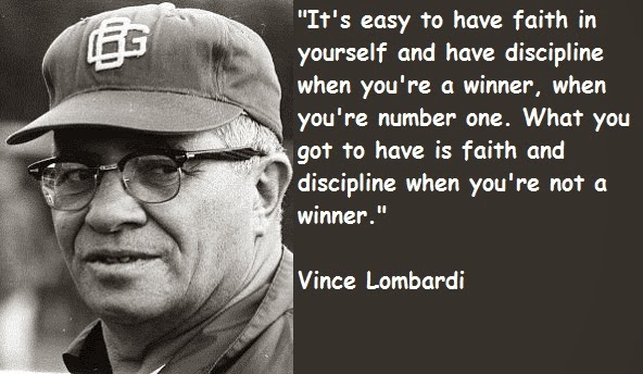 Bubbled Quotes: Vince Lombardi Quotes And Sayings
