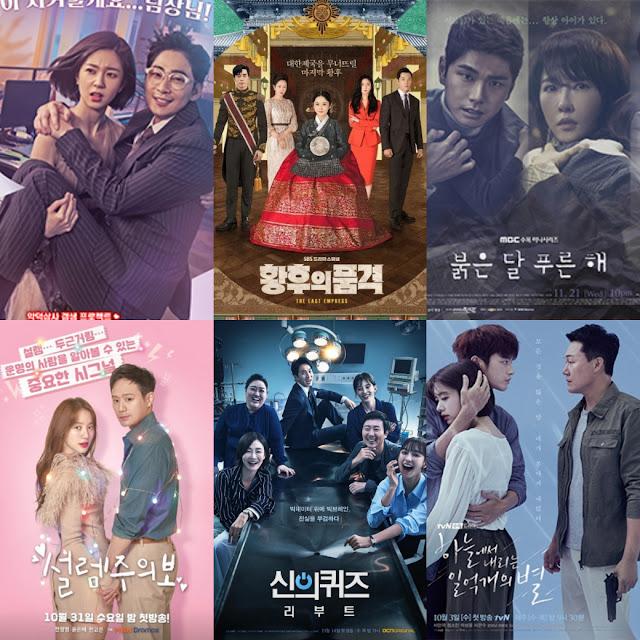 水木劇新戰局 SBS《皇后的品格》奪收視冠軍 六家電視台收視普遍低迷