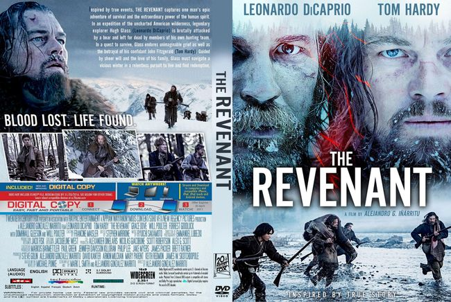 The Revenant – Latino, Inglés