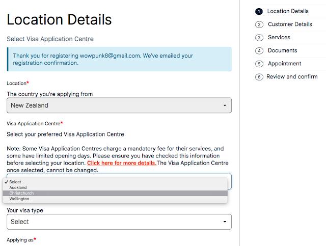 英國|打工度假|海外(紐西蘭)申請英打簽證及預約VFS簡易QA