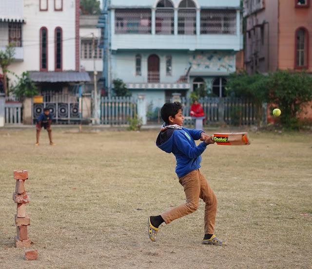 Nephew Rick Playing Cricket 7
