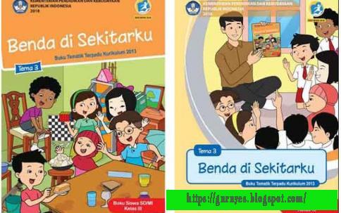 Buku Siswa dan Buku Guru SD Kelas 3 Kurikulum 2013