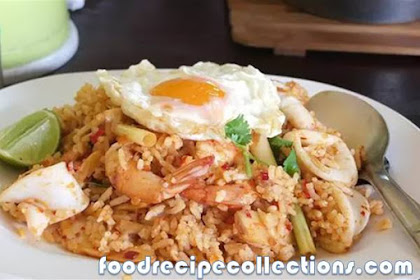 TIPS FRIED RICE MORE HEALTHY AND LOW CALORIE