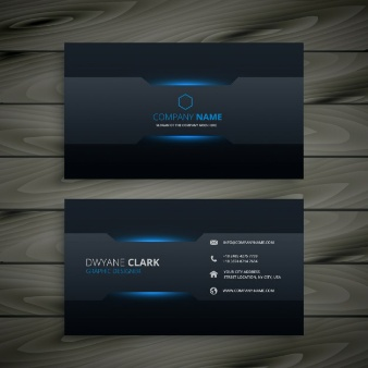 Elegant Modern business card - Free Download