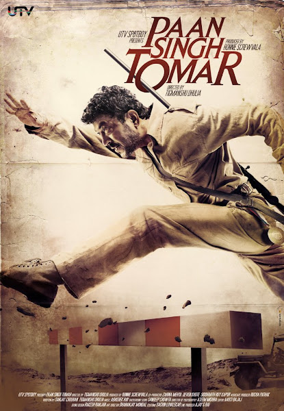 Poster of Paan Singh Tomar 2012 720p Hindi WEB-DL Full Movie Download