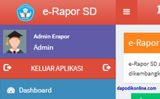 Tugas dan Langkah Kerja Admin e-Rapor SD-SMP-SMA-SMK